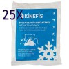Packung mit 25 Stück - Kinefis Cryo Therm Fast Instant Eisbeutel (14x18 cm)